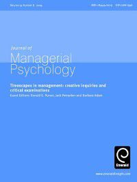 Journal of Managerial Psychology: Journal of Managerial Psychology, Volume 19, Issue 8
