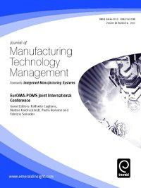 Journal of Manufacturing Technology Management: Journal of Manufacturing Technology Management, Volume 16, Issue 4