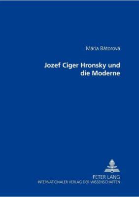 Jozef Cíger Hronský und die Moderne, Mária Bátorová