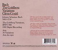 Jub Ed: Goldberg Variations (1981 Digital Rec.) - Produktdetailbild 1
