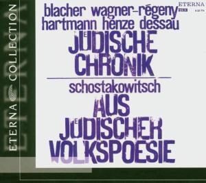 Jüdische Chronik / Jüdische Volkspoesie, H. Kegel, K. Sanderling, Rsol, Bso