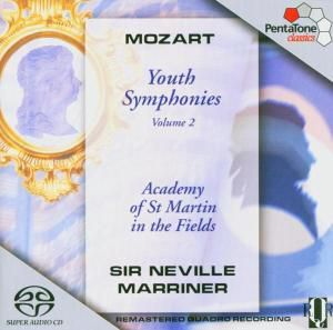 Jugendsinfonien 20,45/+Vol.2, Neville Marriner, Amf