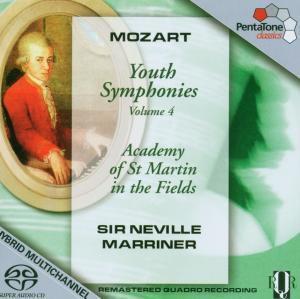 Jugendsinfonien Vol.4, Neville Marriner, Amf