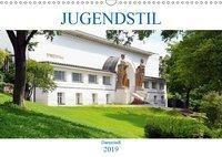 Jugendstil - Darmstadt (Wandkalender 2019 DIN A3 quer), Wolfgang Gerstner