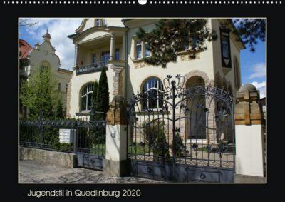 Wandkalender A2 Jugendstil 2020 Quedlinburg In Din Quer R4Aj35L