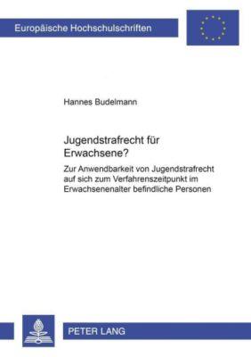 Jugendstrafrecht für Erwachsene?, Hannes Budelmann
