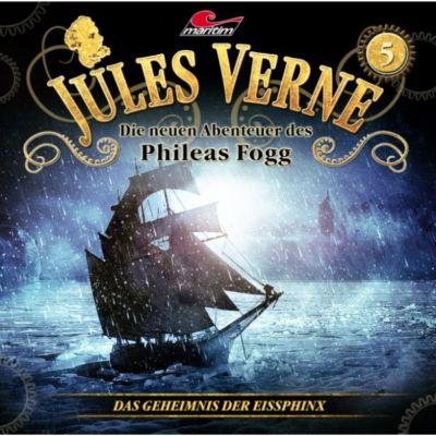 Jules Verne, Die neuen Abenteuer des Phileas Fogg: Jules Verne, Die neuen Abenteuer des Phileas Fogg, Folge 5: Das Geheimnis der Eissphinx, Markus Topf, Dominik Ahrens