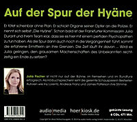 Julia Durant Band 15: Die Hyäne (6 Audio-CDs) - Produktdetailbild 1