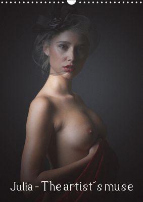 Julia - The artist's muse (Wall Calendar 2019 DIN A3 Portrait), Venusonearth