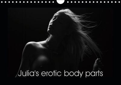 Julia's erotic body parts (Wall Calendar 2019 DIN A4 Landscape), k.A. Venusonearth