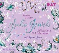 Julie Jewels - Silberglanz und Liebesbann, 4 Audio-CDs, Marion Meister