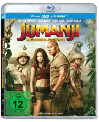 Jumanji: Willkommen im Dschungel - 3D-Version