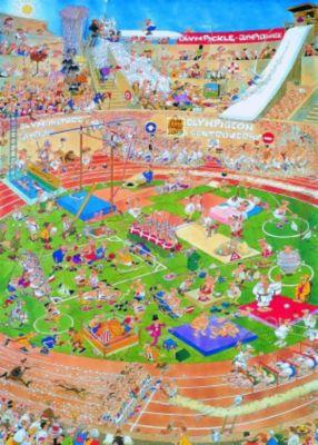 Jumbo Puzzle - Jan van Haasteren Olympiade, 1000 Teile