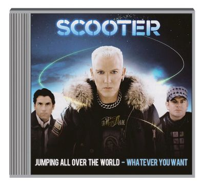 Jumping all over the world - whatever you, Scooter