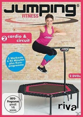 Jumping Fitness 2: Cardio & Circuit, Antonia Westphal