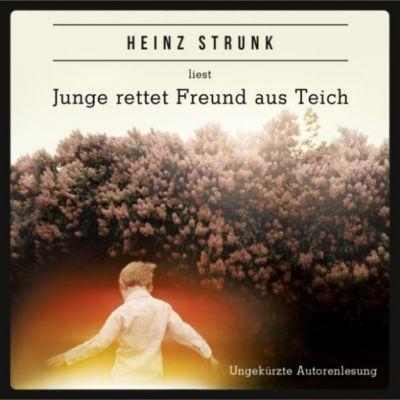 Junge rettet Freund aus Teich, Heinz Strunk