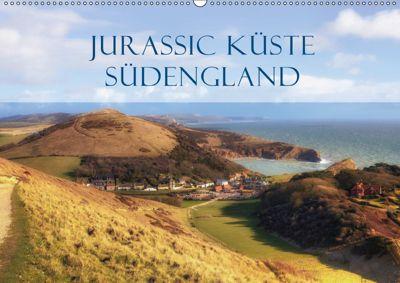 Jurassic Küste - Südengland (Wandkalender 2019 DIN A2 quer), Joana Kruse