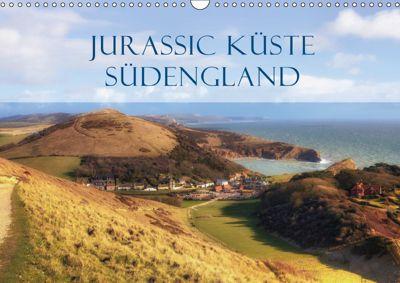Jurassic Küste - Südengland (Wandkalender 2019 DIN A3 quer), Joana Kruse