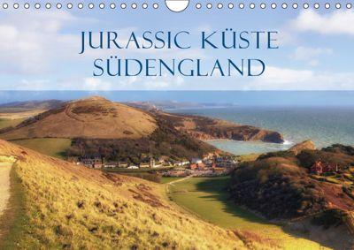 Jurassic Küste - Südengland (Wandkalender 2019 DIN A4 quer), Joana Kruse