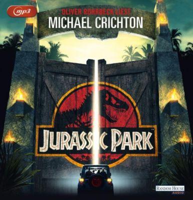 Jurassic Park, 2 MP3-CDs, Michael Crichton