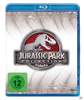 Jurassic Park Collection 1-4 Bluray Box, Jeff Goldblum,Laura Dern Sam Neill