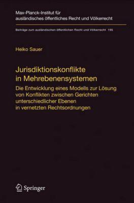 Jurisdiktionskonflikte in Mehrebenensystemen, Heiko Sauer