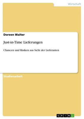 Just-in-Time Lieferungen, Doreen Walter