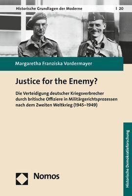 Justice for the Enemy? - Margaretha Franziska Vordermayer  