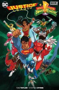 Justice League - Mighty Morphin Power Rangers, Tom Taylor, Stephen Byrne