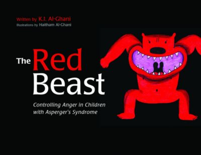 K.I. Al-Ghani children's colour story books: The Red Beast, Kay Al-Ghani