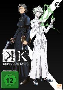 K - Return of Kings - Vol. 2 DVD-Box, N, A