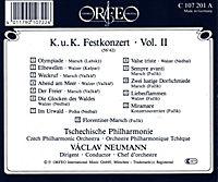 K.U.K.Festkonzert Vol.2:Böhmische Märsche,Polkas/+ - Produktdetailbild 1