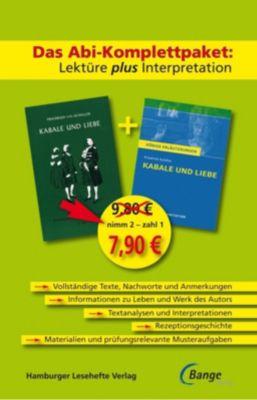 Kabale und Liebe, Lektüre plus Interpretation - Friedrich von Schiller |