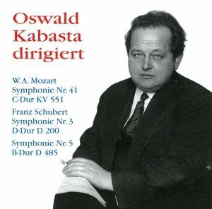 Kabasta Dirigiert Mozart+schub, Oswald Kabasta, Mp, Wsy