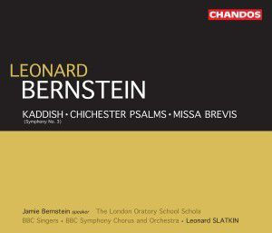 Kaddish / Chichester Psalms / Missa Brevis, Murray, Strong, Bbcso, Slatkin