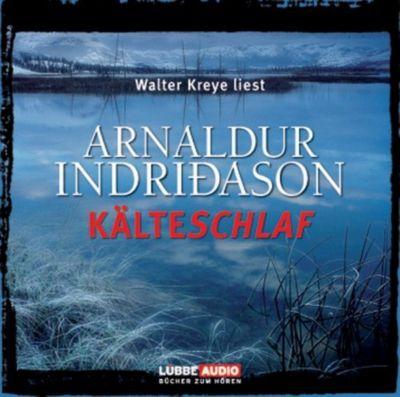 Kälteschlaf, 4 Audio-CDs, Arnaldur Indriðason