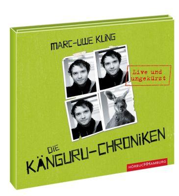 Känguru Chroniken Band 1: Die Känguru-Chroniken (4 Audio-CDs), Marc-Uwe Kling