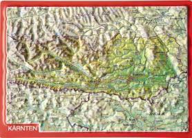 Kärnten. Carinthia. Koroska, Reliefpostkarte, André Markgraf, Mario Engelhardt