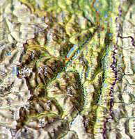 Kärnten. Carinthia. Koroska, Reliefpostkarte - Produktdetailbild 1