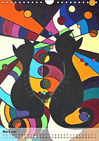 Kätz, Petra Kolossa, Pop-Art-Kunstdrucke (Wandkalender 2019 DIN A4 hoch) - Produktdetailbild 10