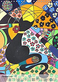 Kätz, Petra Kolossa, Pop-Art-Kunstdrucke (Wandkalender 2019 DIN A4 hoch) - Produktdetailbild 2