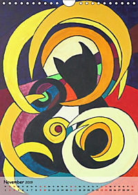 Kätz, Petra Kolossa, Pop-Art-Kunstdrucke (Wandkalender 2019 DIN A4 hoch) - Produktdetailbild 12