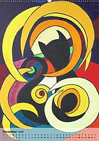 Kätz, Petra Kolossa, Pop-Art-Kunstdrucke (Wandkalender 2019 DIN A2 hoch) - Produktdetailbild 11