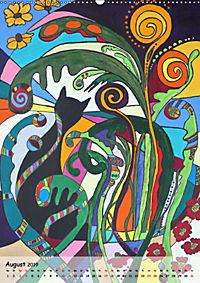 Kätz, Petra Kolossa, Pop-Art-Kunstdrucke (Wandkalender 2019 DIN A2 hoch) - Produktdetailbild 8