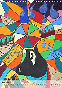 Kätz, Petra Kolossa, Pop-Art-Kunstdrucke (Wandkalender 2019 DIN A4 hoch) - Produktdetailbild 5
