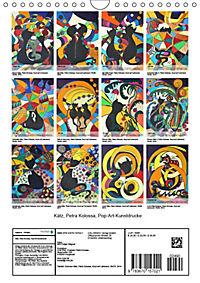Kätz, Petra Kolossa, Pop-Art-Kunstdrucke (Wandkalender 2019 DIN A4 hoch) - Produktdetailbild 13