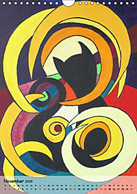 Kätz, Petra Kolossa, Pop-Art-Kunstdrucke (Wandkalender 2019 DIN A4 hoch) - Produktdetailbild 11