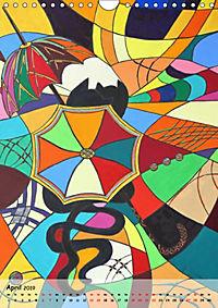 Kätz, Petra Kolossa, Pop-Art-Kunstdrucke (Wandkalender 2019 DIN A4 hoch) - Produktdetailbild 4