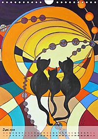 Kätz, Petra Kolossa, Pop-Art-Kunstdrucke (Wandkalender 2019 DIN A4 hoch) - Produktdetailbild 6
