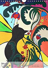Kätz, Petra Kolossa, Pop-Art-Kunstdrucke (Wandkalender 2019 DIN A4 hoch) - Produktdetailbild 7